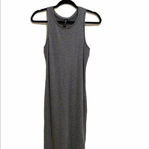 Cotton On Gray  Tank Midi Dress Med